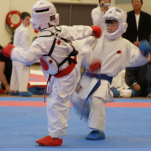 Kids Competition Karate Kumite