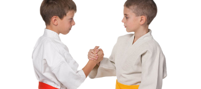 Karate teaches kids respect